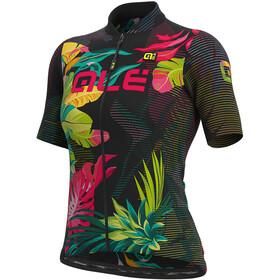 Alé Cycling Solid Tropika SS Jersey Women black/multicolor